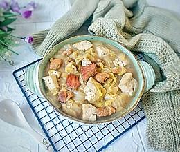 #好吃不上火#白菜炖豆腐的做法