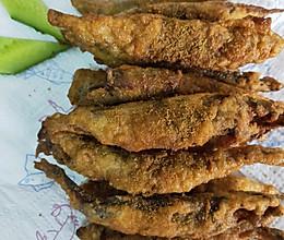 酥炸多春鱼的做法