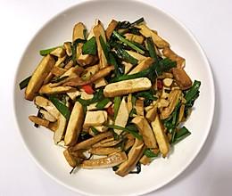 #餐桌上的春日限定#韭菜炒香干的做法