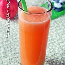神清气爽:胡萝卜菠萝苹果汁