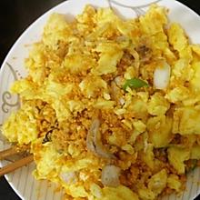 鸡蛋炒鱼籽