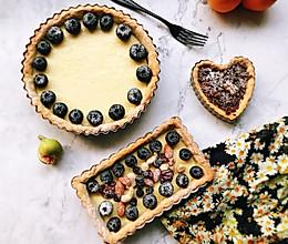 蓝莓乳酪塔的做法