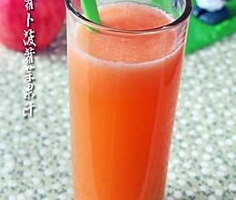 神清气爽:胡萝卜菠萝苹果汁的做法