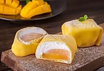 自制甜品|芒果班戟的做法