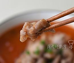 番茄滑肉汤的做法