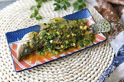 咸蛋黄焗鳜鱼