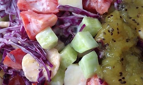 果蔬酸奶沙拉的做法