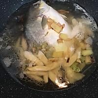 土法白烧鲳鱼#浪漫樱花季#的做法图解4