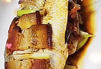 腊肉蒸黄鱼