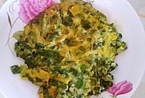 臭菜炒蛋的做法