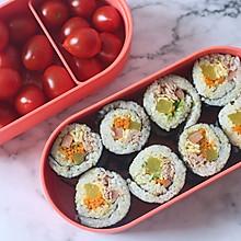 #硬核菜谱制作人# 金枪鱼寿司