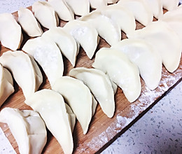 猪肉大葱饺子(内含两种包法)的做法