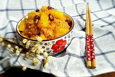 营养早餐 - 菠萝蒸饭