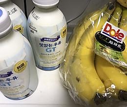 香蕉奶的做法