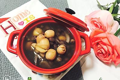莲子百合红豆汤