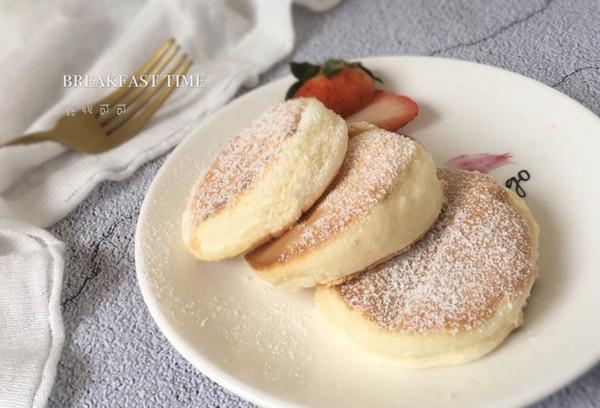 日式舒芙蕾厚松饼的做法