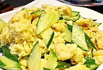 【减肥食谱】鸡蛋炒黄瓜的做法