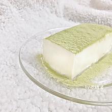 豆浆做甜品:抹茶豆乳布丁