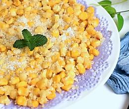 惊艳餐桌的甜品,自制脆脆甜甜玉米烙,来自口感视觉的双重体验的做法