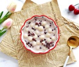 比奶茶还好喝的奶香红豆小丸子的做法