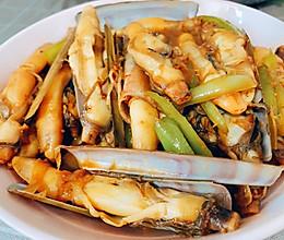 酱炒蛏子[鲜美有营养]的做法