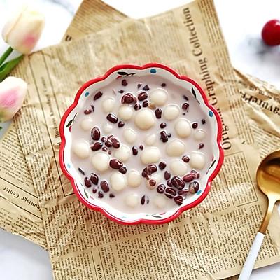 比奶茶还好喝的奶香红豆小丸子