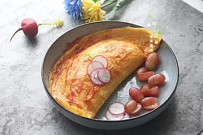唯秘香肠蛋包饭#一机多能 一席饪选#