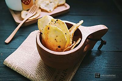 之黑椒薯片#美的智烤大师烤箱#