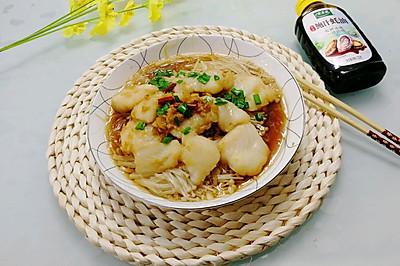 #百變鮮鋒料理#蒜蓉粉絲龍利魚
