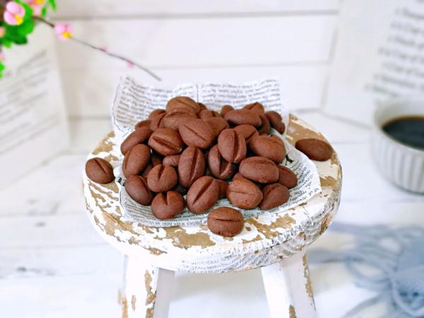 #母亲节,给妈妈做道菜#咖啡豆饼干