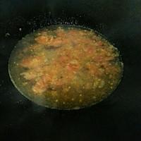无敌开胃健康的番茄青菜面的做法图解3