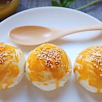 白莲蓉蛋黄酥的做法图解30