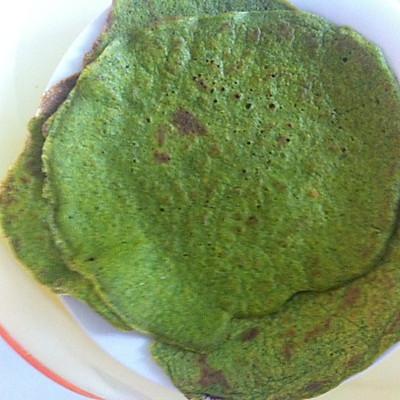 BB营养菠菜饼
