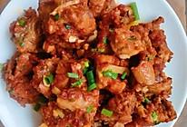 面粉煎鸡壳,面粉鸡架,香到朋友,下酒菜#晒出你的团圆大餐#的做法