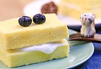 酸奶夹心绵绵糕 宝宝辅食食谱的做法