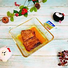 """#甜蜜暖冬,""""焙""""感幸福#烤牛排"""