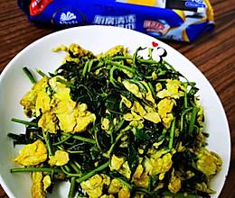 #厨房有维达洁净超省心#香椿炒鸡蛋的做法