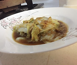 蒜蓉白菜的做法