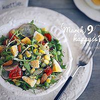 爽口的鸡蛋杂蔬沙拉的做法图解7