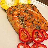 奥尔良风情烤鲟鱼片的做法图解6