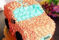 生日蛋糕之小汽车#九阳烘焙剧场#的做法