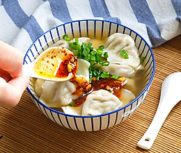 一食半刻 | 酸汤水饺的做法