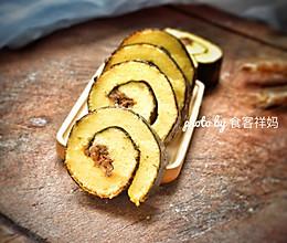 #精品菜谱挑战赛#紫菜肉松蛋糕的做法