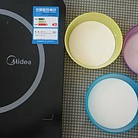 牛奶椰丝小方【超懒的懒人甜品】的做法图解4