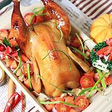 #网红美食我来做#蜜汁烤全鸡