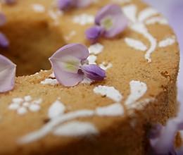 紫藤花戚风蛋糕的做法