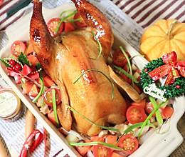 #网红美食我来做#蜜汁烤全鸡的做法