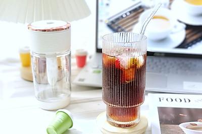 夏日咖啡新喝法——蔓越莓咖啡气泡水