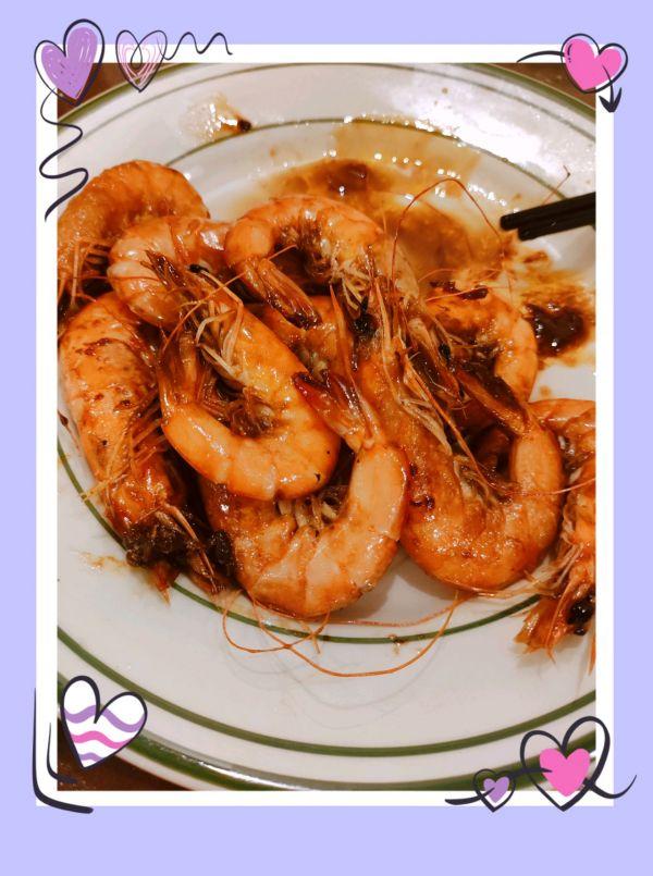 日式黑椒铁板大虾~ 一口引爆鲜甜的做法