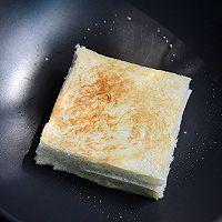 芝士火腿三明治#百吉福食尚达人#的做法图解7